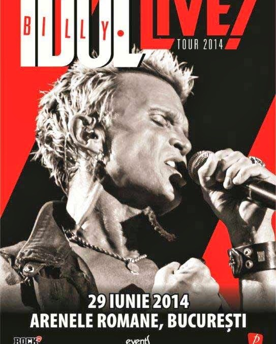 Billy Idol, venim!