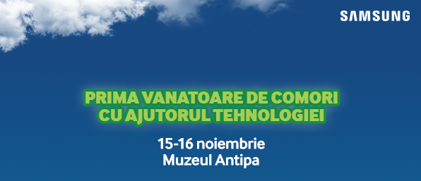 """""""Treasure hunt"""" digital la Antipa"""