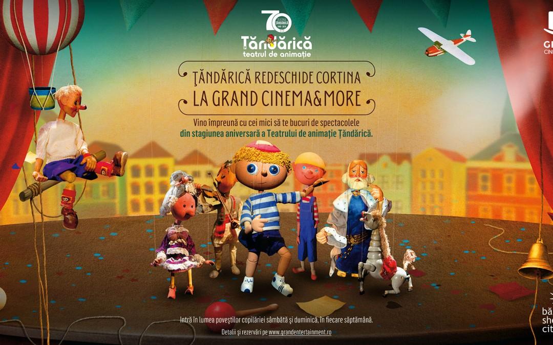 Stagiune noua a teatrului Tandarica la Grand Cinema & More