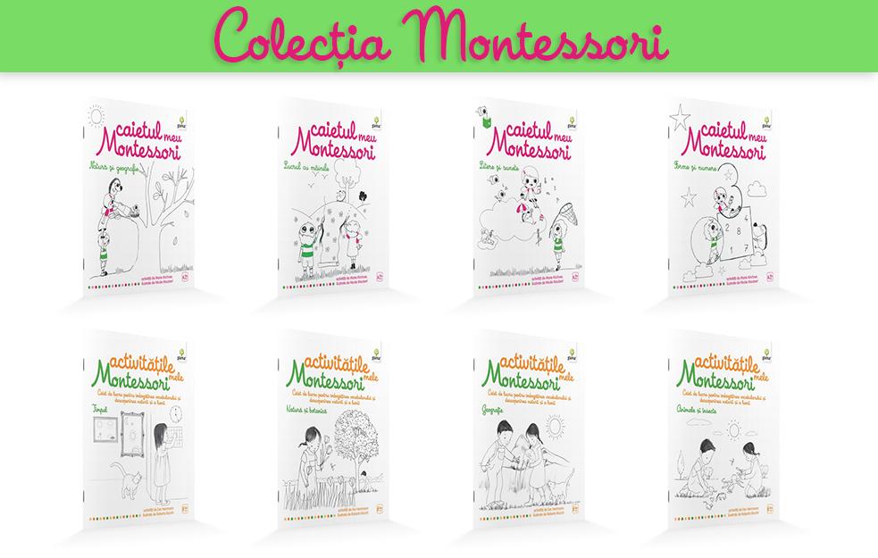 Carticele Montessori pentru copii curiosi