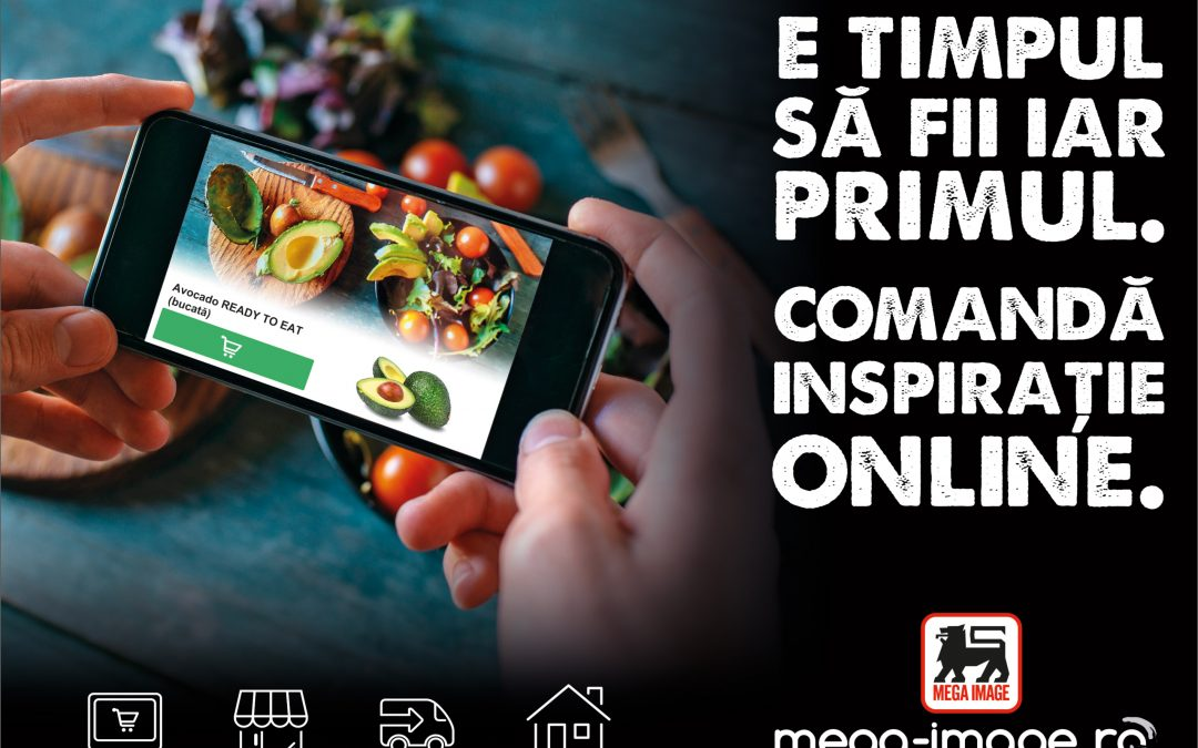 Mega Image si-a facut magazin online